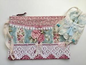 Pretty Zip pouch + Lil Lavender sachet pouch awesome HM vintage lace!