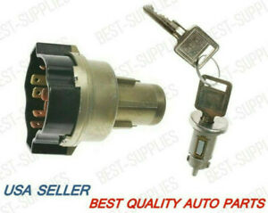 Ignition Lock Cylinder In Dash w/ Keys 67-79 Chevy GMC Pick Up #1030