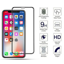For iPhone XR 6.1 Screen Protector 100% Genuine Full Cover Tempered Glass 5D New