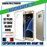 COQUE Housse FINE GALAXY S7 S7 PLUS S7 EDGE SILICONE TRANSPARENTE TPU 0.5MM ÉTUI