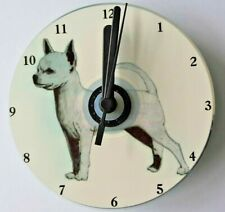 S/C Chihuahua CD Clock by Curiosity Crafts