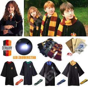 Harry Potter Kostüm Umhang Schal Krawatte Wand Gryffindor Schule Party Abschluss