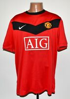 MANCHESTER UNITED 2009/2010 HOME FOOTBALL SHIRT JERSEY NIKE SIZE XL ADULT