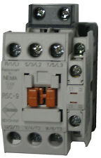 Benshaw RSC-9-6AC120 3 pole 9 AMP contactor with 120 volt AC coil