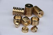 Kanstul - Besson Trumpet Trim Kit Radiator Caps. KGUBrass. Raw Brass. TKRR123