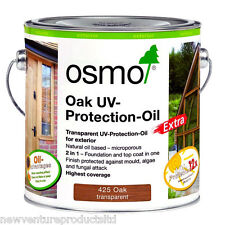 Osmo UV Protection Oil Extra 425 Oak Satin 2.5 litre - For Exterior Wood