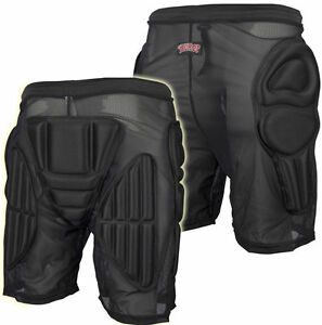 BULLET Padded Shorts Bum Pads Hip Protection - SMALL - Snowboard / Skate / Derby
