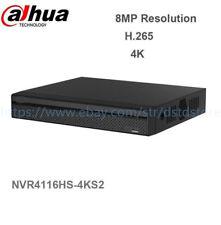 Dahua NVR4116HS-4KS2 16 Channel Compact 1U 4K&H.265 Lite Network Video Recorder