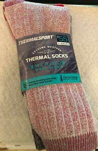 Ladies Thermalsport Extreme Weather Thermal Socks-Merino wool blend $24.95 sz4-8