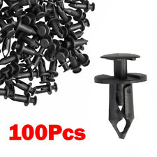Set Of 100 ATV Retainer Clips Push Pin Splash Guard Body Panel Fit For Honda 8mm