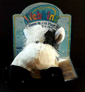 Webkinz COW with new/unused code by Ganz HM003