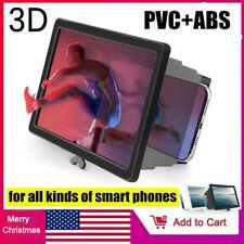 Folding Mobile Phone Video Screen Magnifier 3D HD Screen Amplifier Stand Bracket