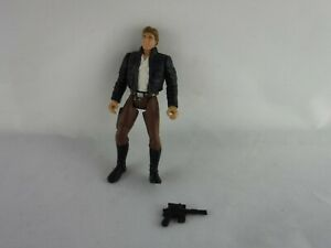 "STAR WARS Loose 3.75"" Hasbro Figure Toy - Han Solo POTF 2"