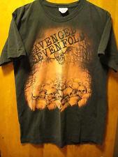 Avenged Sevenfold A7X Vintage Pile of Skulls T Shirt Medium Black