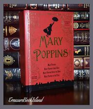 Mary Poppins By P. Travers 80th Anniversary Illustrated Collectible 2 Day Ship