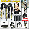 Adjustable Padded Heavy Duty Work Tool Belt Braces Suspenders For Tools   ~