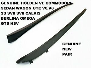 PAIR HOLDEN COMMODORE VE CALAIS SV6 SS FRONT WINDSCREEN SIDE RUBBER SEAL NEW