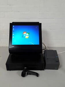 Toshiba POS Cash Counter System Thermal Printer & Barcode Reader Cash Register