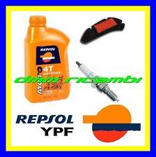 Kit Tagliando HONDA DYLAN 125 05>06 Filtro Aria Candela Olio REPSOL 2005 2006