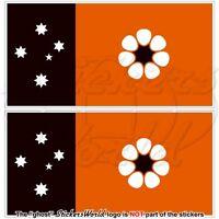 NORTHERN TERRITORY Flag Darwin NT Australia, Australian Stickers, Decals 75mm x2