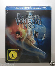 The Last Airbender Blu-ray 2D + 3D SteelBook Germany Media Markt exclusive NEW