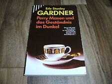 Erle Stanley Gardner -- PERRY MASON und das GESTÄNDNIS im DUNKEL // Scherz 1994