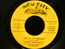 JOHNNY  HONEYCUTT Love by the numbers NC 7277