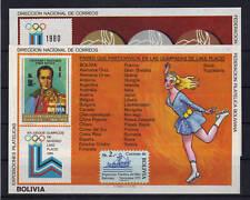 Bolivien Bl. 102/03 postfrisch / Olympiade ............