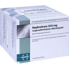 Nephrotrans 840 Mg Gélules Magensaftresistent 100 Pièces PZN3949271