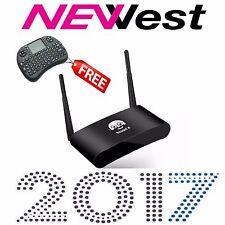 2017 New lool Arabic Black IPTV Box with FREE Zen QWERTY Keyboard Remote