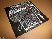 FRIDAY THE 13TH cd SIGNED by HARRY MANFREDINI score JASON vorhees soundtrack