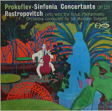 Rostropovich: Prokofiev Sinfonia Concertante - Capitol G 7121, beautiful copy