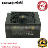 1600W 110V to 230V Power Supply with High Efficiency for Mining Machine PC #om15