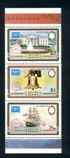 Belize Scott #821 MNH STRIP AMERIPEX '86 Stamp EXPO CV$6+