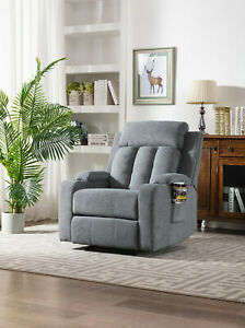 Recliner Armchair with Double Cup Holders