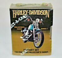 1992 Harley-Davidson Collectors Cards Series 2 Sealed Factory Set 100 Cards New