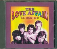The Love Affair / Ellis - Singles A'S & B'S Cd Perfetto