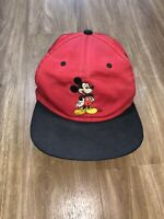VTG 90s Mickey Mouse Unlimited Embroidered Snapback Hat Cap Disney RARE