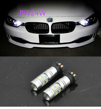 Canbus Error Free PW24W LED Projector Daytime Running Light For BMW F30 3 Series