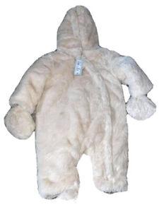 River Island Snowsuit Pram suit Baby Boy Girl Unisex Grey Black Gold Navy Fur