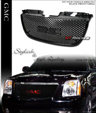 BLACK FOR 2007-2014 GMC YUKON DENALI ROUND HOLE MESH FRONT BUMPER GRILL GRILLE