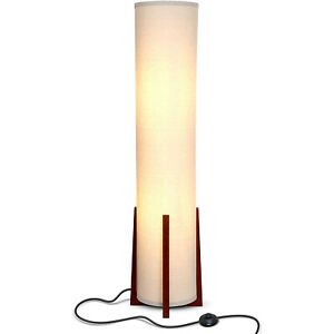 Brightech Parker 48 Inch Tall Decorative Tower Shade Soft LED Light Floor Lamp