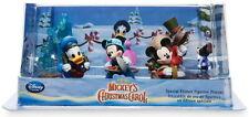 DISNEY Mickey's Christmas Carol Scrooge McDuck 6 pc Figurine set ~ collectibles!
