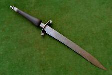 Vintage Rare colonial american Spanish steel hunting plug bayonet knife dagger