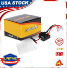 60A Waterproof Brushed ESC Speed Controller with SBEC for 1/10 4WD RC Car D8A6