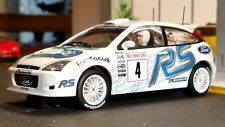 AutoArt SLOT Car 1:32 Ford FOCUS RS WRC 2003 White Lighting Lamps NEW Scalextric
