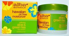 Alba Botanica Hawaiian Oil Free Moisturizer - Refining Aloe & Green Tea 3 oz