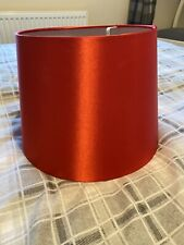"""Bright Red  Ceiling Lampshade 10""""'"""