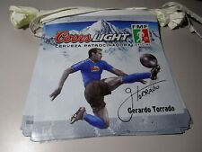 Coors Light FMF Gerardo Torrado Soccer flag string banner beer sign ball FiFa