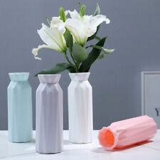 Plastic Flower Vase Decoration Home Vases Imitation Ceramic Vase Pot Decorations